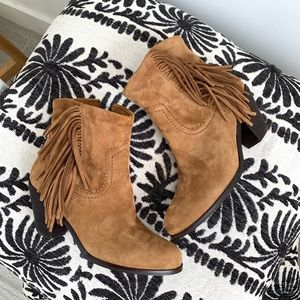Sam Edelman • new louie fringe ankle boots